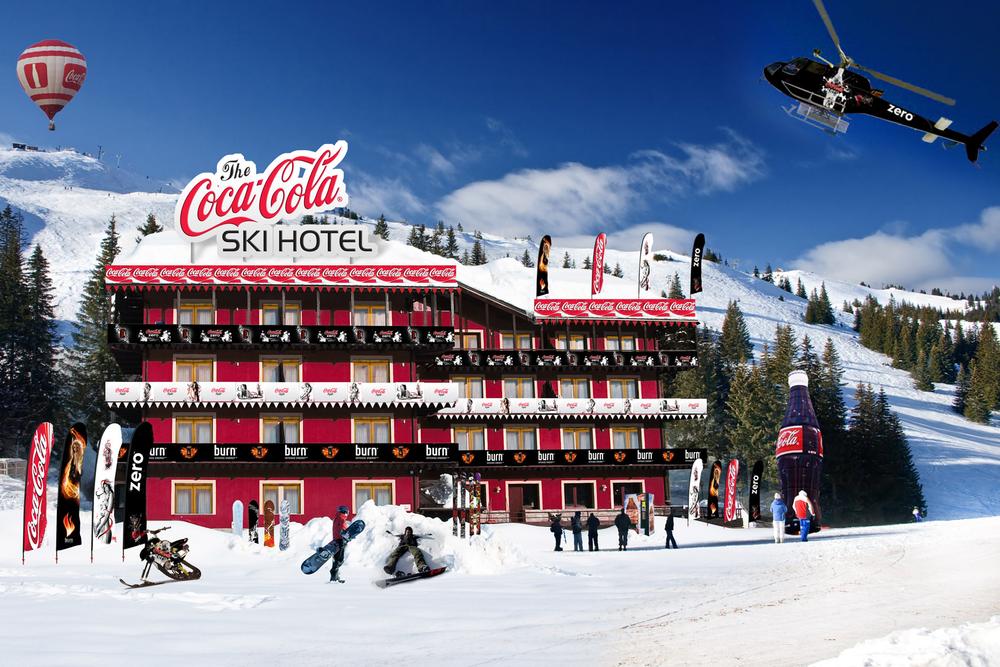 Coca Cola Ski Hotel
