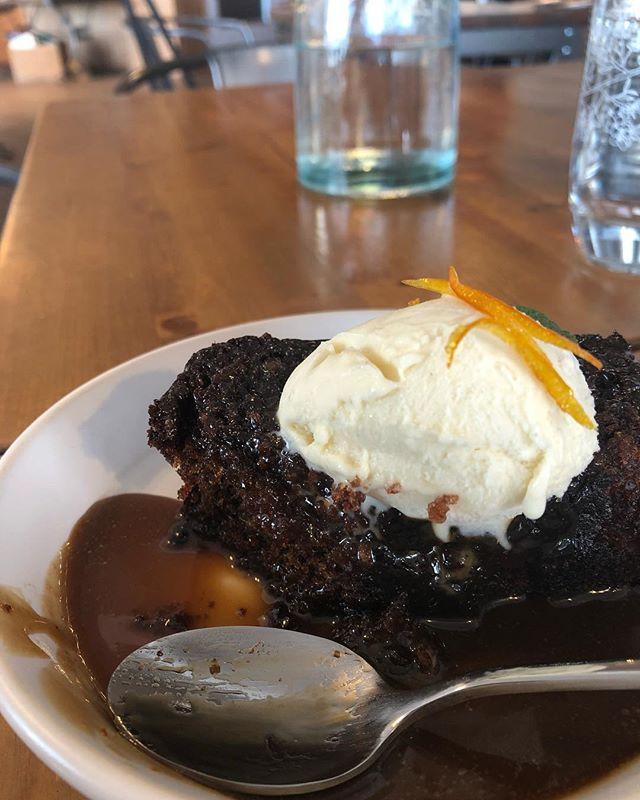 Ginger sponge cake. #amazing