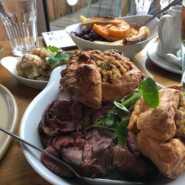 Best Sunday roast in Devon. Hands down. Amazing. @odetruefood #bestofdevon
