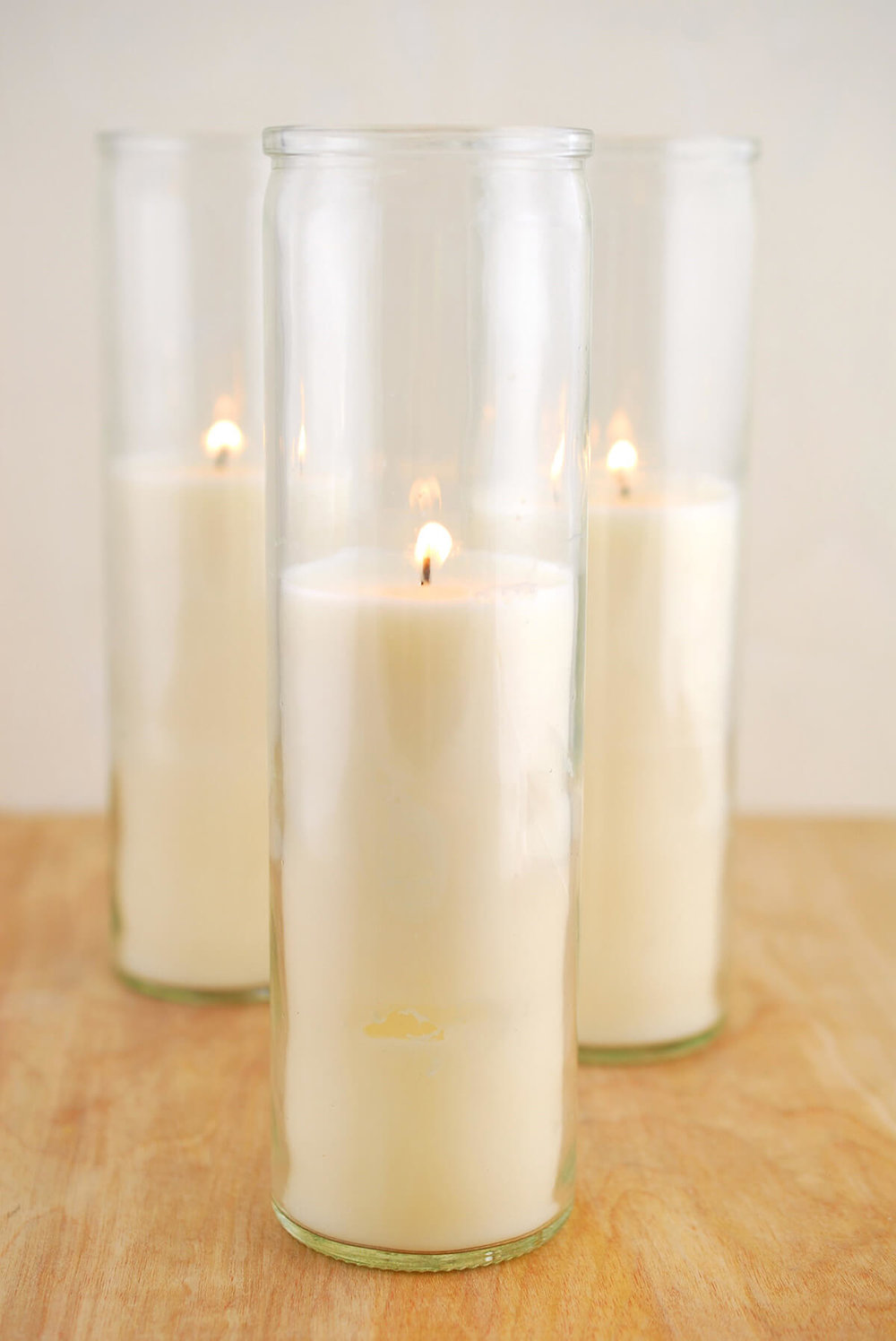 Pre-filled Hurricane Candles $8