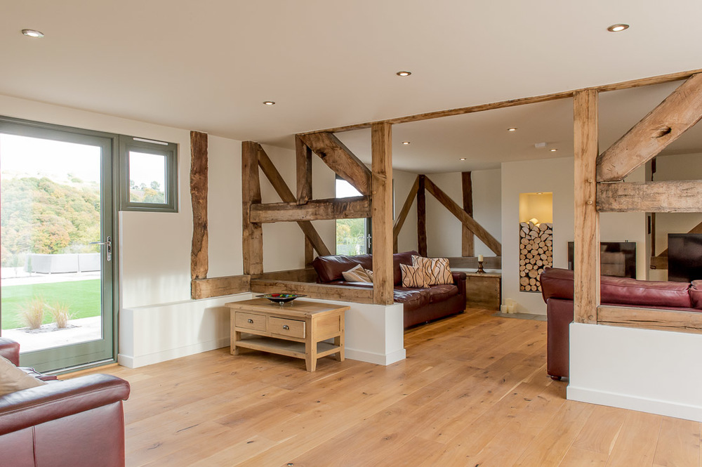 Barn Conversion barn conversion shropshire — jdw building & conservation