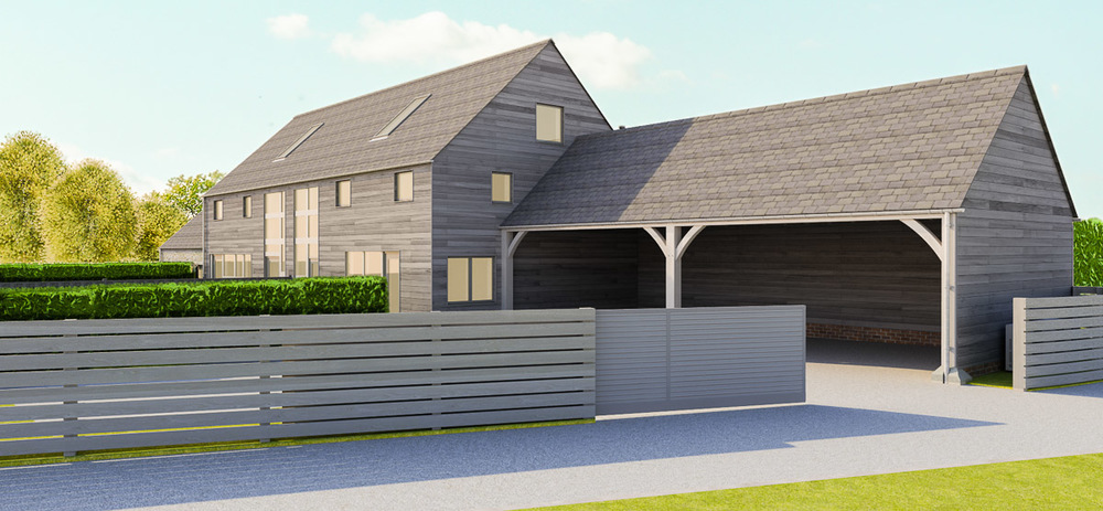 JDW Building And Construction Herefordshire Semi Detached Contemporary Barn  Conversions Contemporary Barn Conversions 04  ...