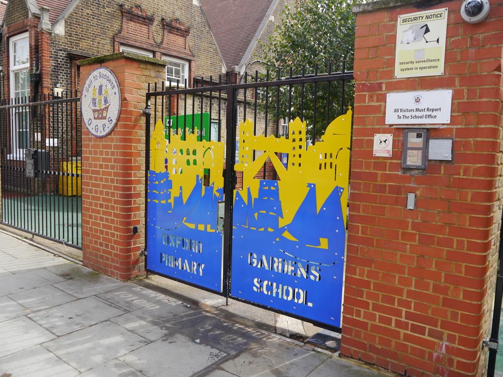 School gates