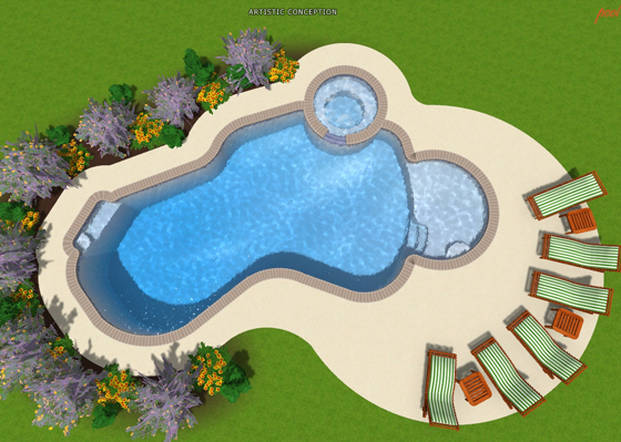 Pool shapes for Pool design names