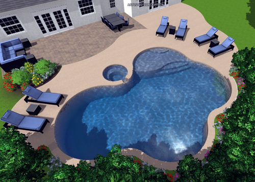 How to design your own pool swimming pool companies for Virtual pool design