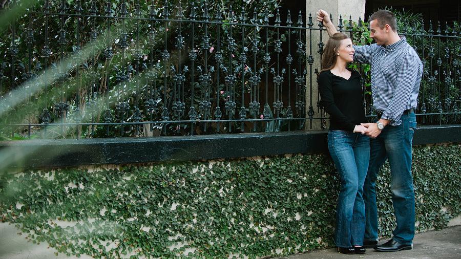 Savannah Engagement Photographer - Forsyth Park