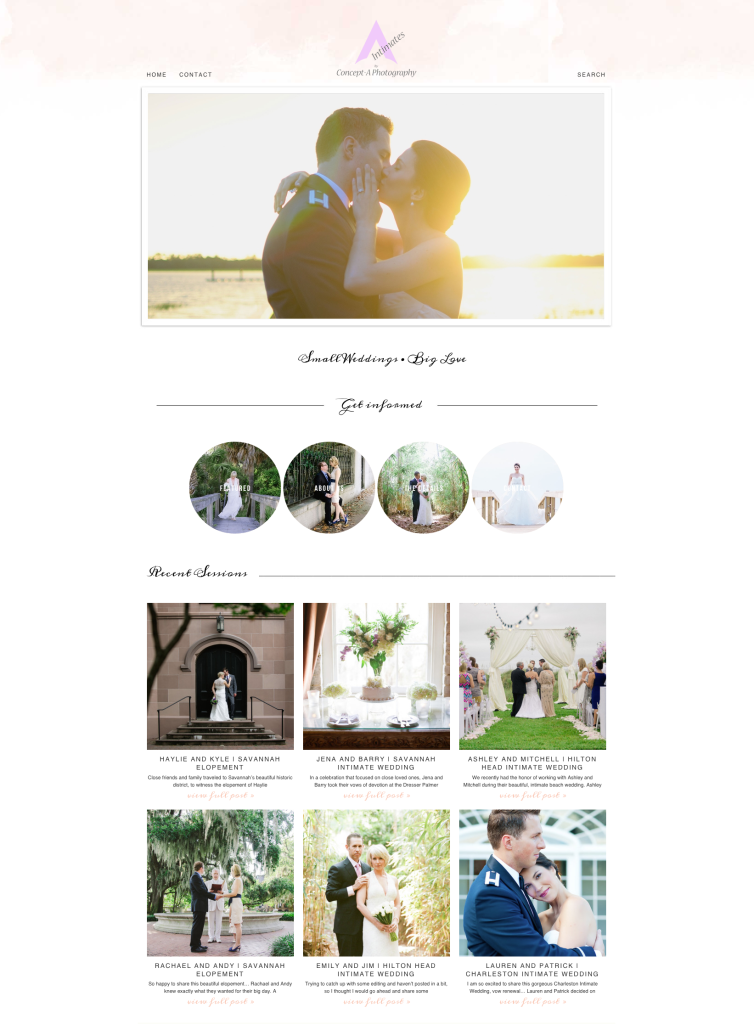 Concept-A Intimates |  Savannah Intimate Weddings and Elopements