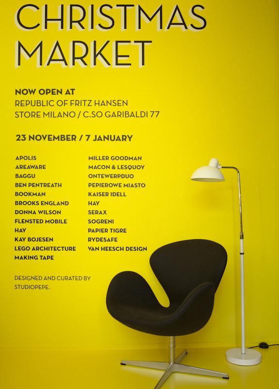 ©Studiopepe | Republic of Fritz Hansen | Christmas Market