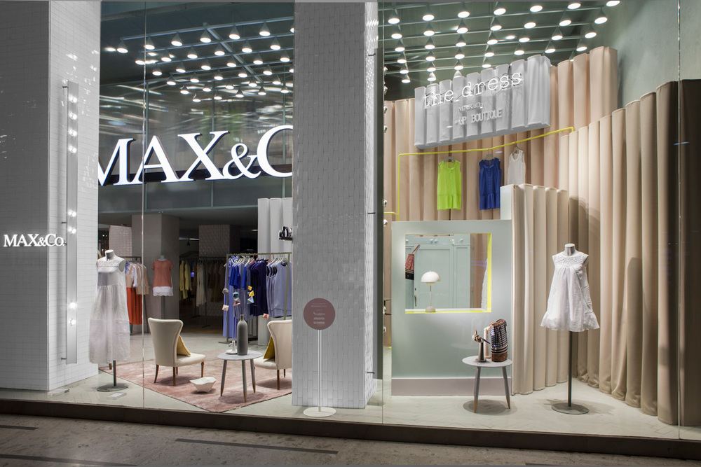 ©Studiopepe | Max&Co. | The Dress / Pop-Up Boutique