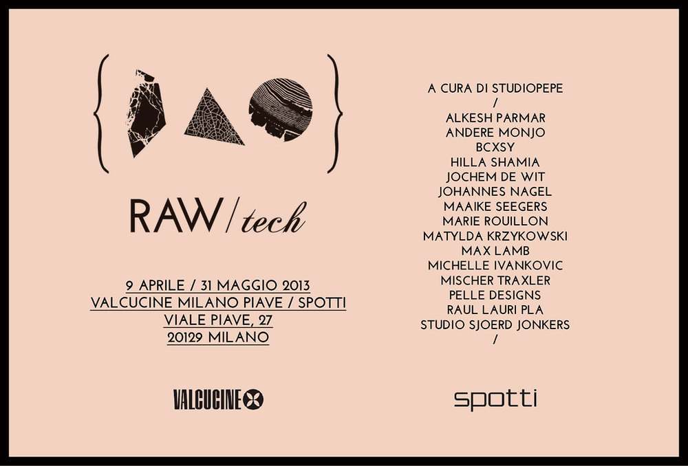 ©Studiopepe | Exhibitions | Valcucine | Raw / Tech