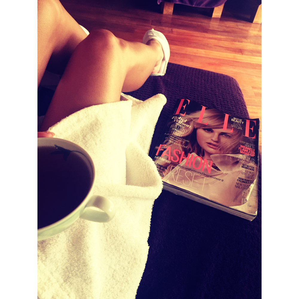 Kicking back with Peppermint Tea and Rebel