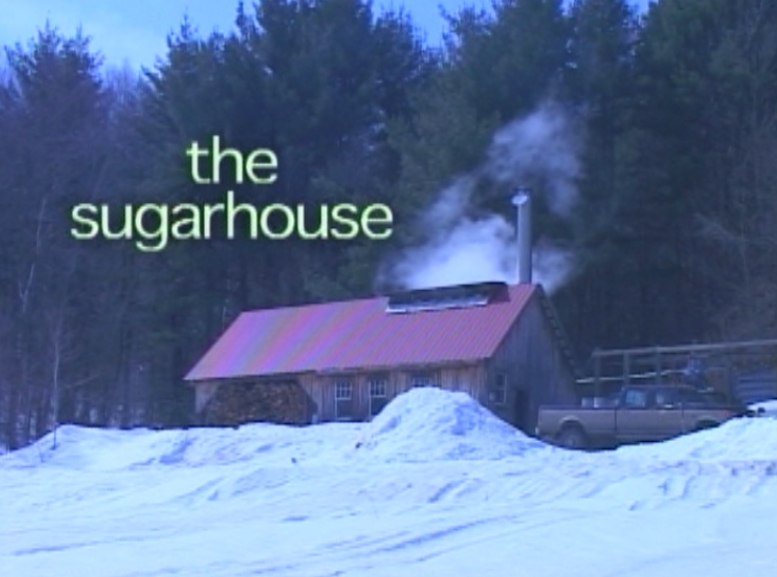 The sap gets transported to the sugarhouse.