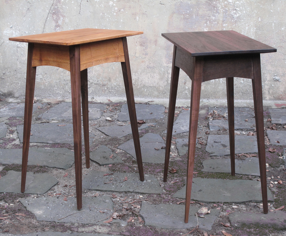 Splayed Leg End Tables