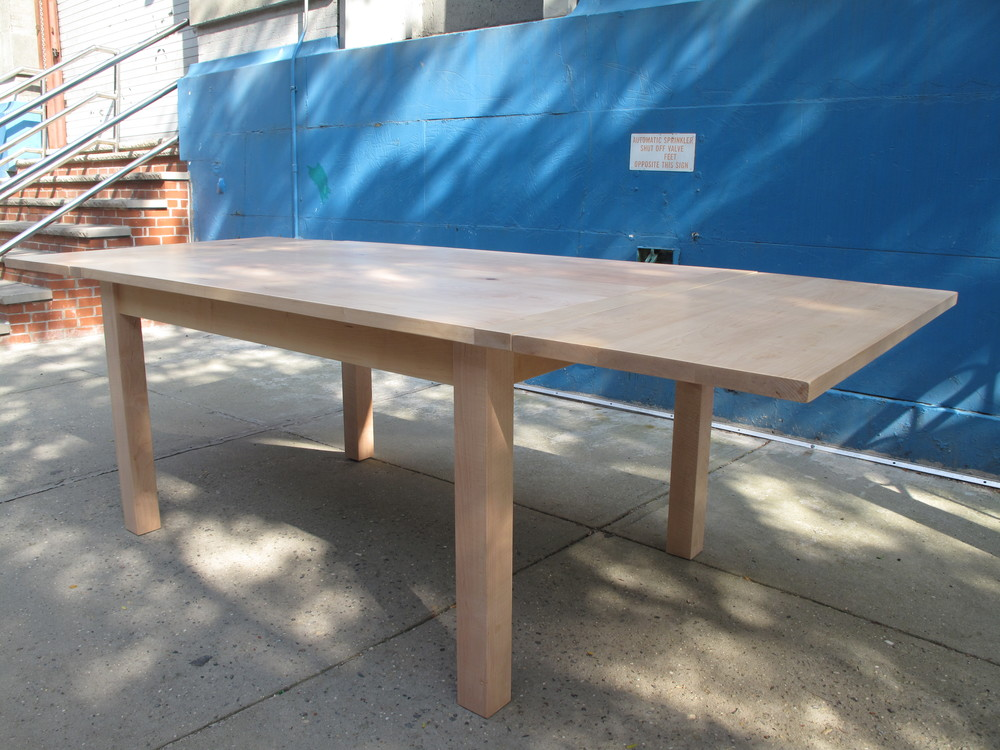 Maple Table with Extensions