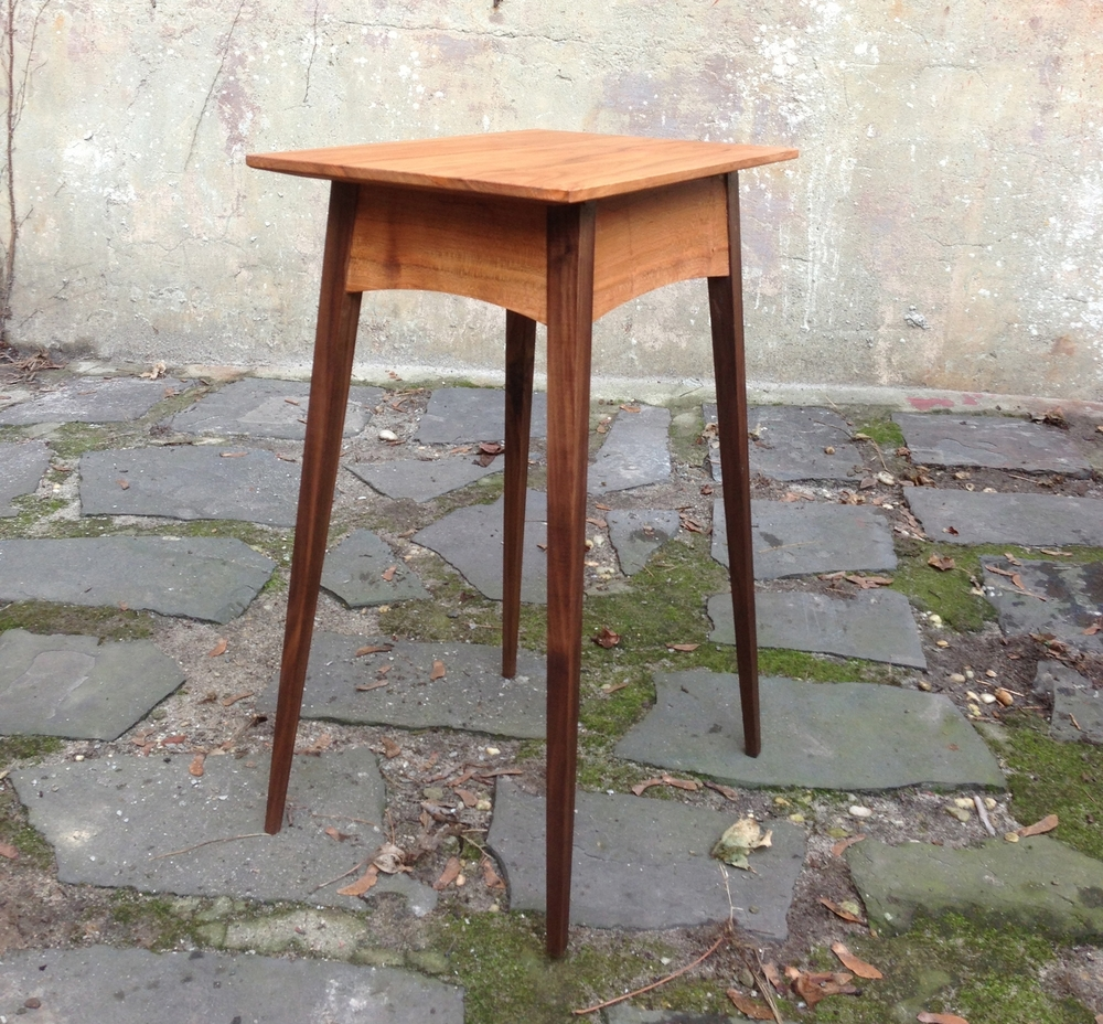 Splayed Leg End Table