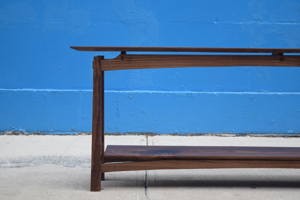 Walnut Sofa Table