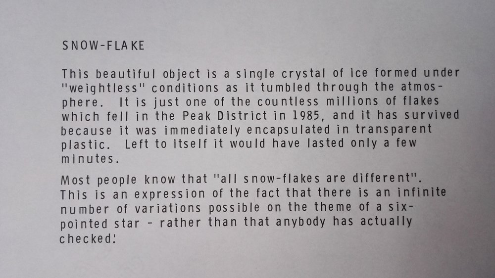 Fig. 6. Explanation card of snow-flake.jpg