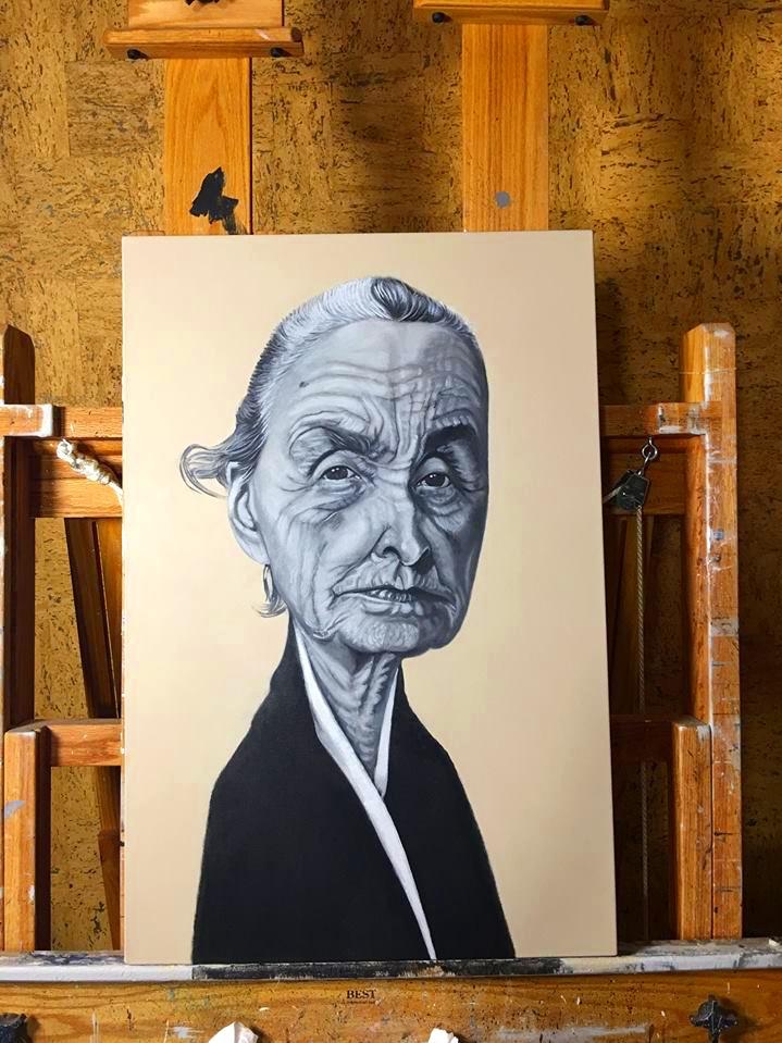 "Georgia O' Keeffe 24"" x 36"