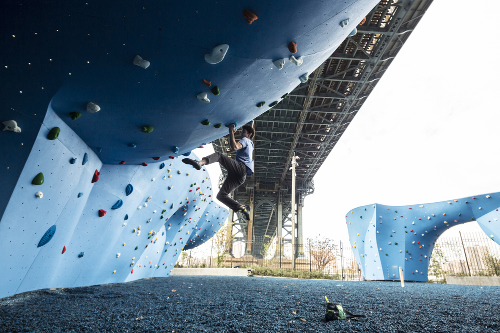 We made a BIG announcement, and believe us, we were psyched! DUMBO Boulders will be opening in Spring 2016!
