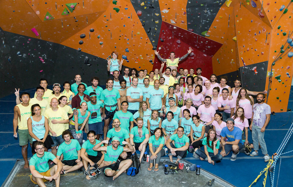 Another success was the Team Rope Climbing Comp, hosted by  The Cliffs Routesetters , which saw our members out in full friendly, competitive, smack-talking force.