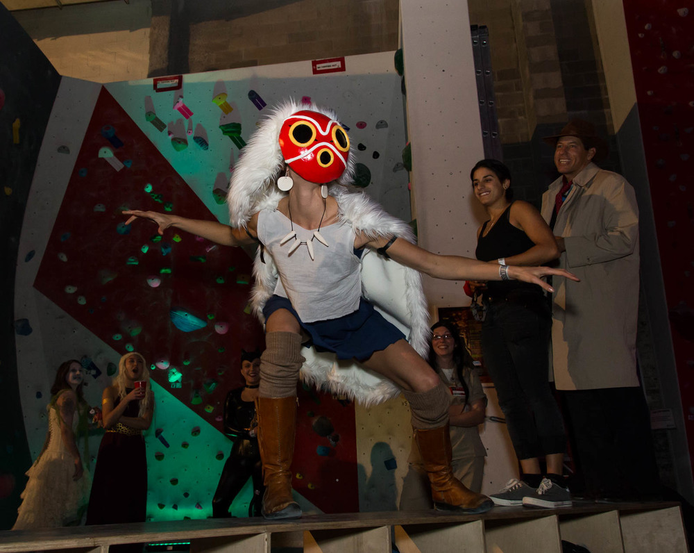 For the second time, LIC hosted a screening of Reel Rock, this time with their tenth installment, followed by our womping stomping Halloween Dance Party, which was a rousing success.