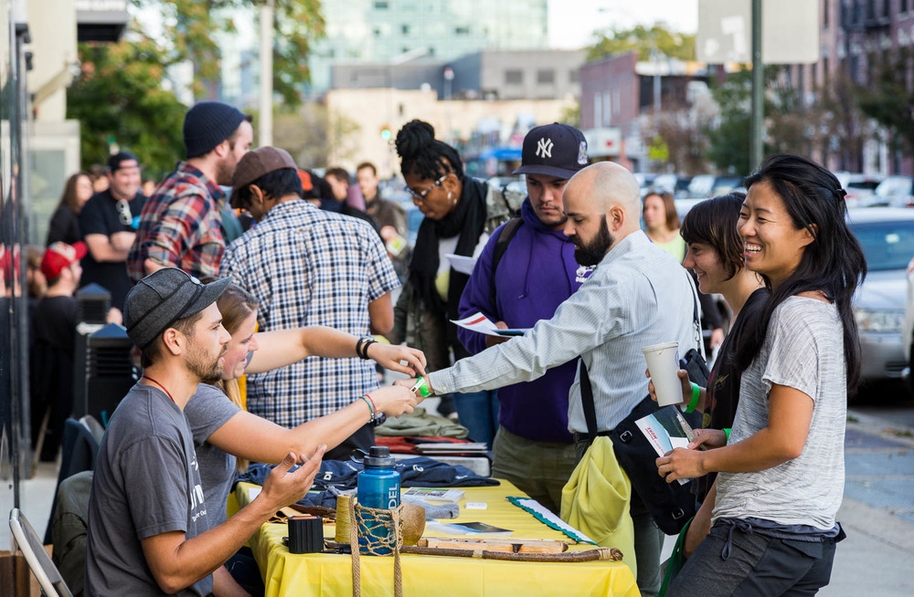 We teamed up with Patagonia to host our first-ever Job Fair! More than ten outdoor industry companies lined up on the sidewalk outside LIC to take applications and show you what your dream job could be.