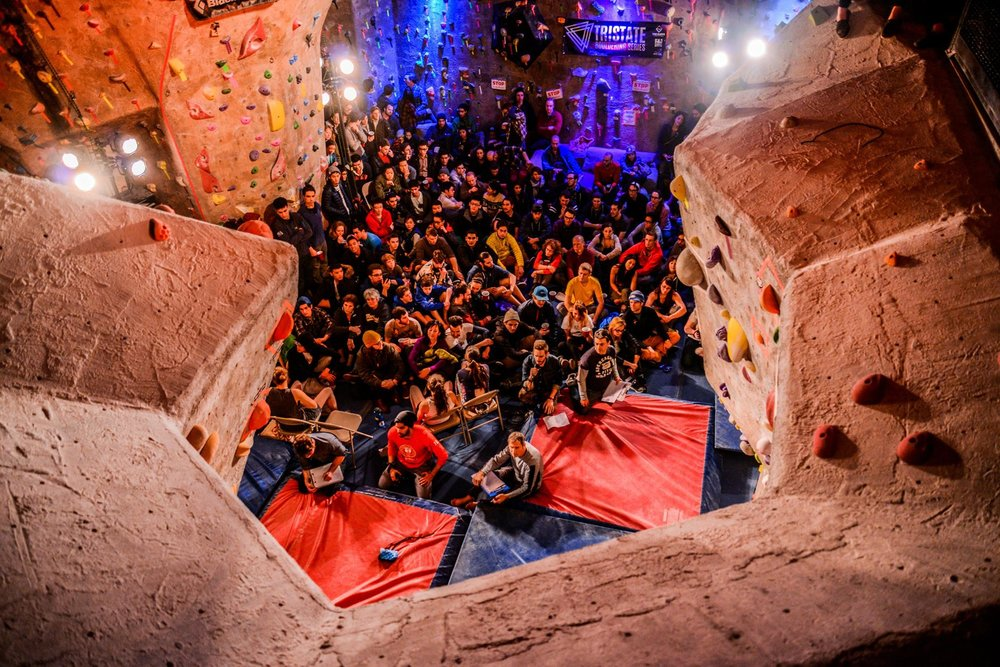 The Cliffs at Valhalla stuffed with people for Feats of Strength XI finals!