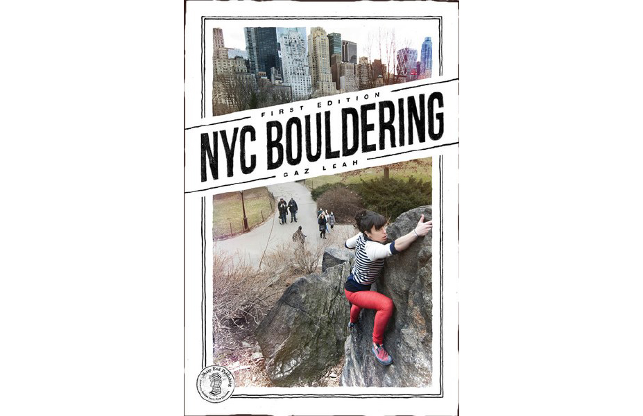 NYC BOULDERING GUIDEBOOK - $22
