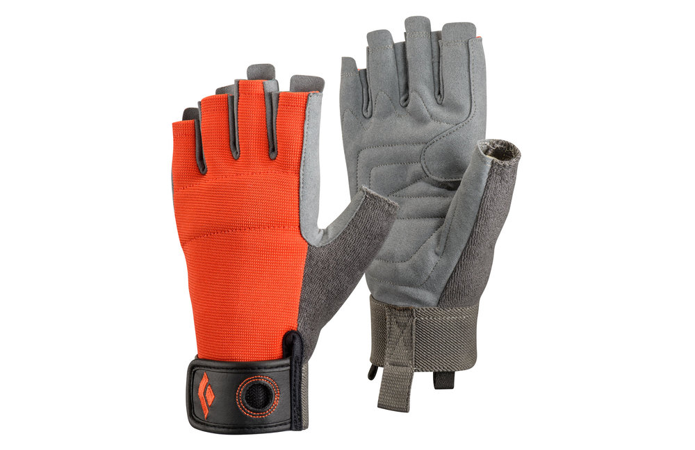 BLACK DIAMOND HALF CRAG GLOVES - $15.95
