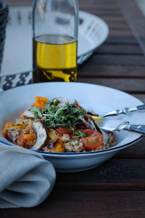> Sommerlicher Toskana-Salat