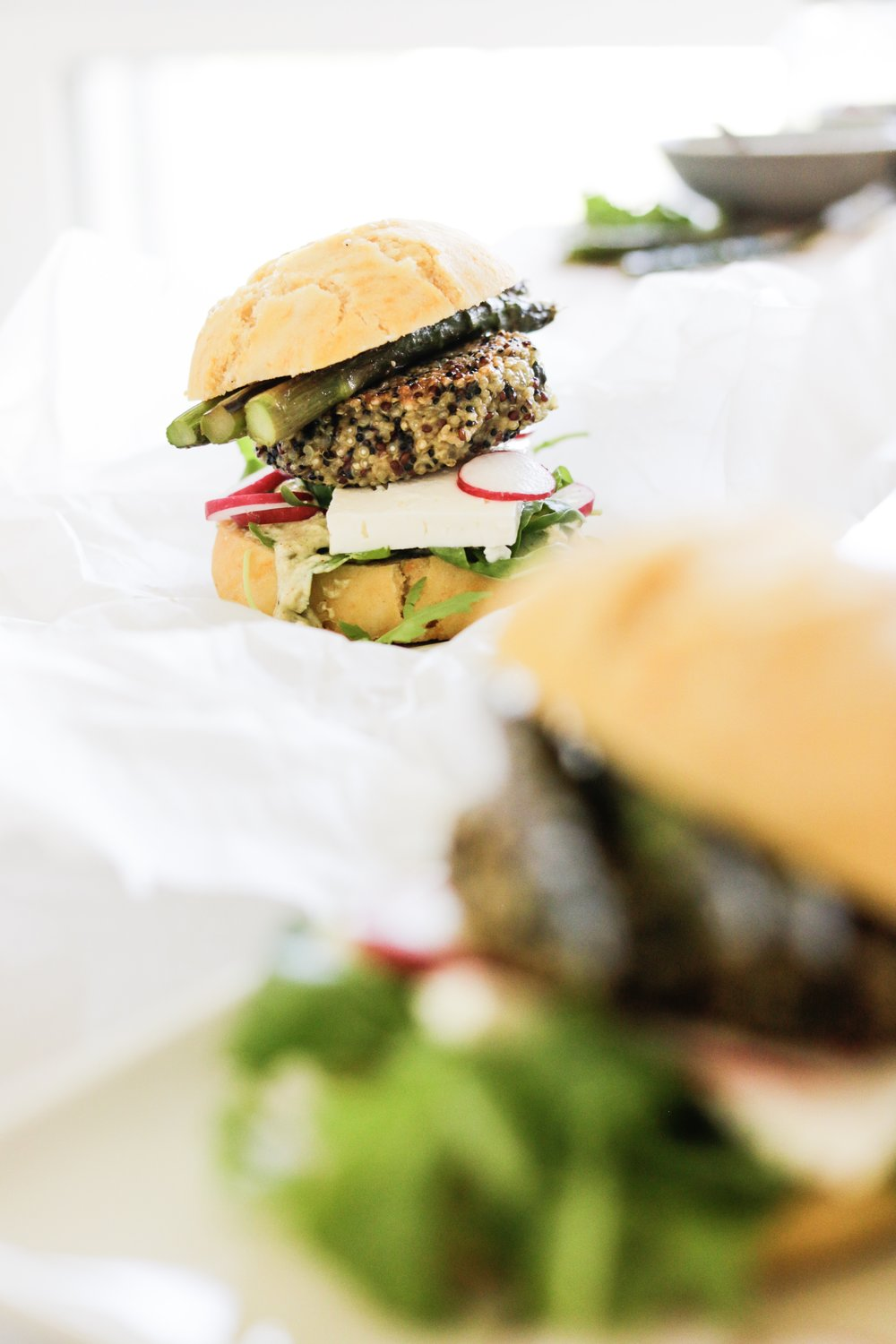 Foodblog SHARE & EAT - Quinoa Burger