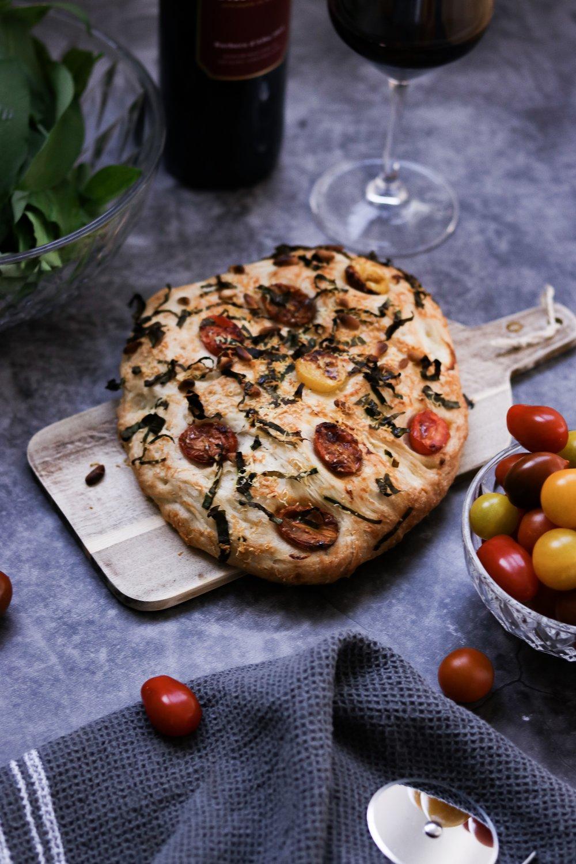 foodmag.ch - Bärlauch Focaccia