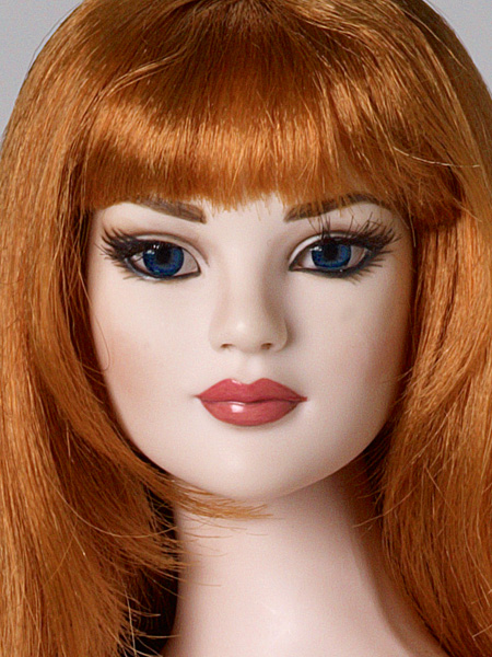 American Model Glamour Basic, AM head sculpt with inset eyes