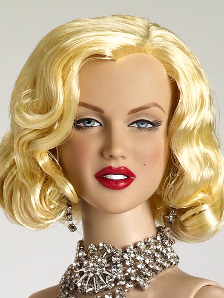 "Diamonds, 22"" Marilyn Monroe sculpt"