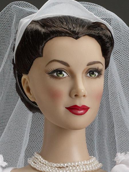 """22"""" Scarlett's Wedding Day, Vivien Leigh Portrait sculpt"""