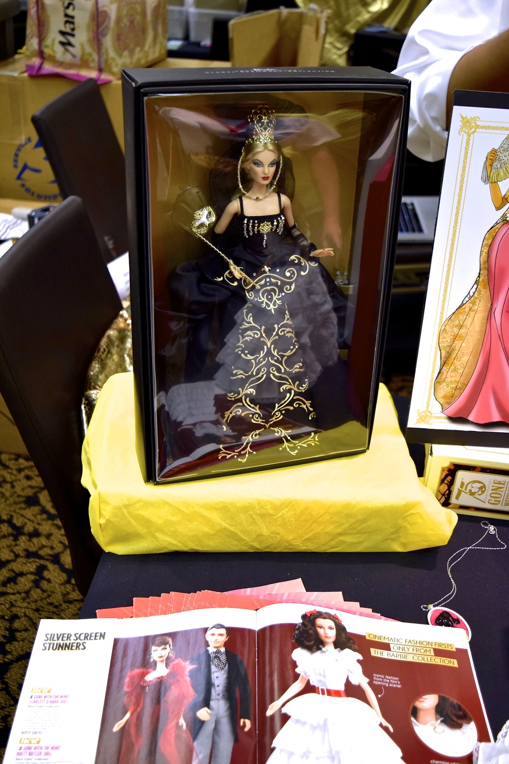 National Barbie Collectors Convention salesroom 2014