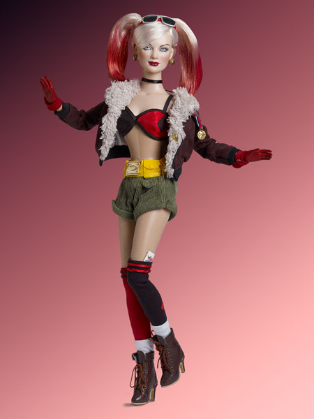 Bombshell Harley Quinn, photo property of Tonner Doll