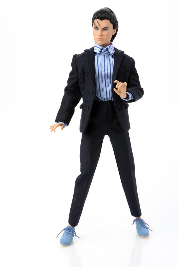 Miles Morgan in Blue Suede Shoes