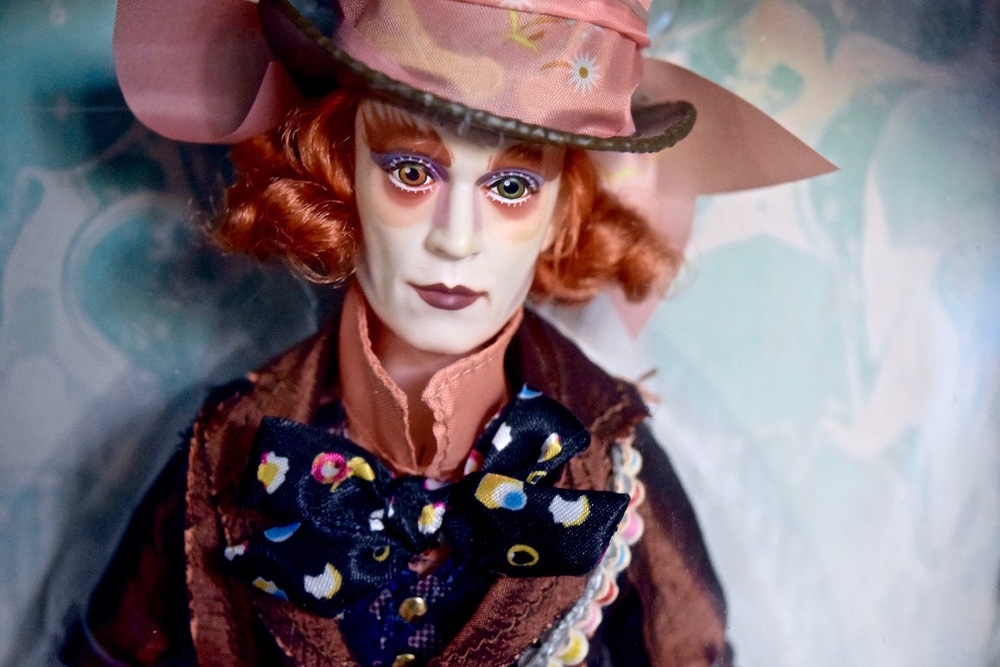 Mad Hatter Through the Looking Glass doll