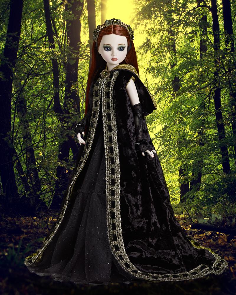 Deep Dark Forest resin Ellowyne $395 LE125