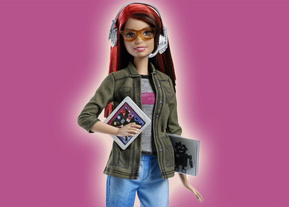 Mattel's first coding Barbie! Photo is property of Mattel.