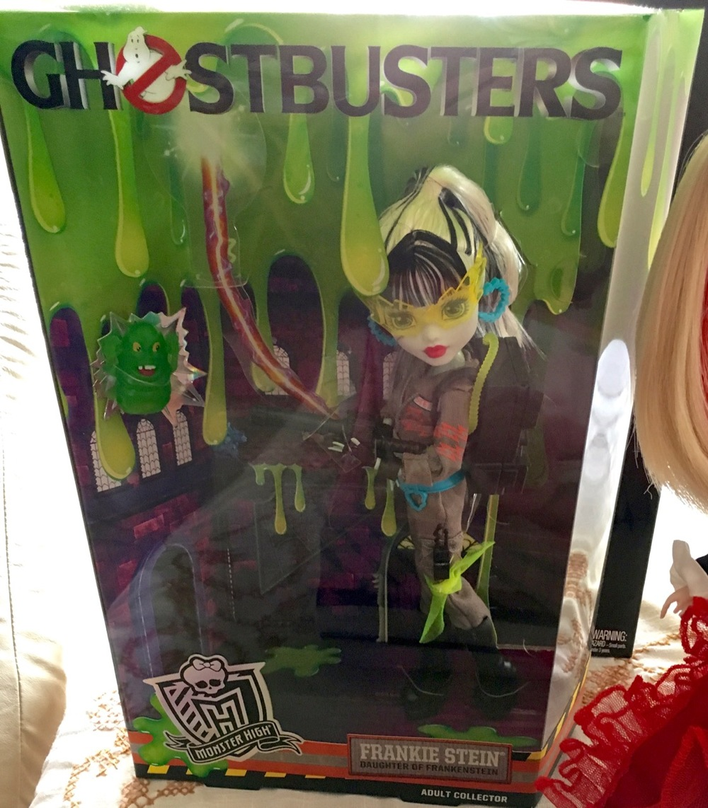 Monster High Frankie Stein Ghostbusters SDCC exclusive