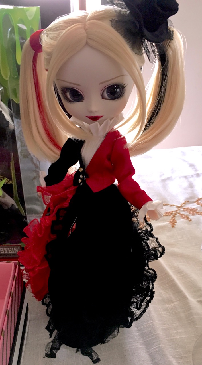 Pullip as Harley Quinn