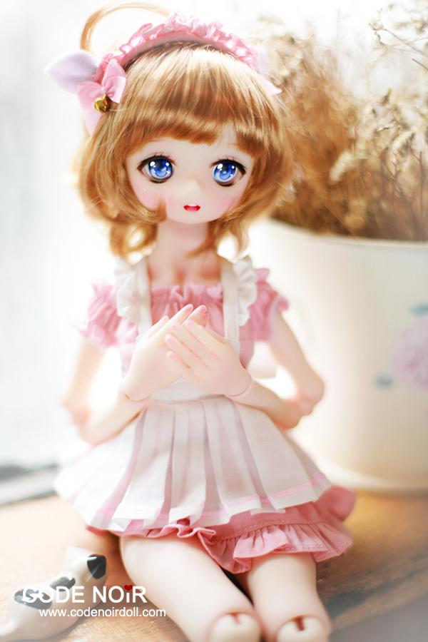 Pink Cat Maid - $64.80 YoSD/Tiny BJDs