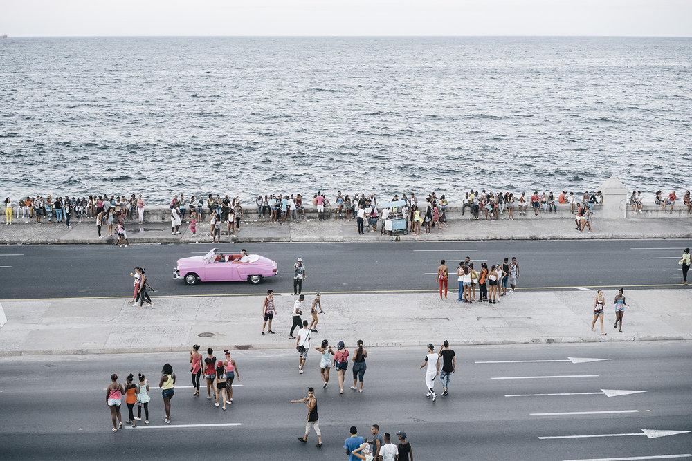 "Malecón , archival pigment print, 30"" x 40"", edition 3 of 4, 2015."
