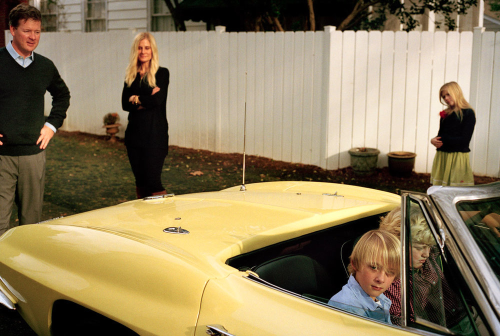 "Untitled(Yellow Car) , digital c-print, 16"" x 24"", edition 1 of 15, 2014."