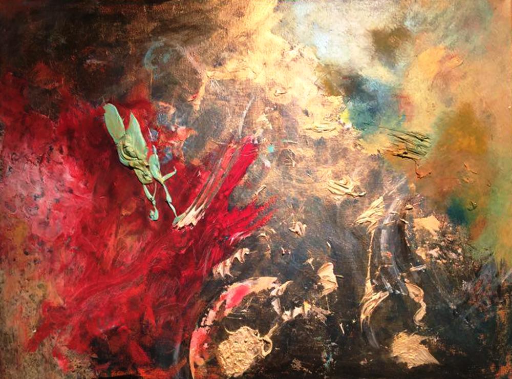 The Wonderful    - Acrylic on canvas