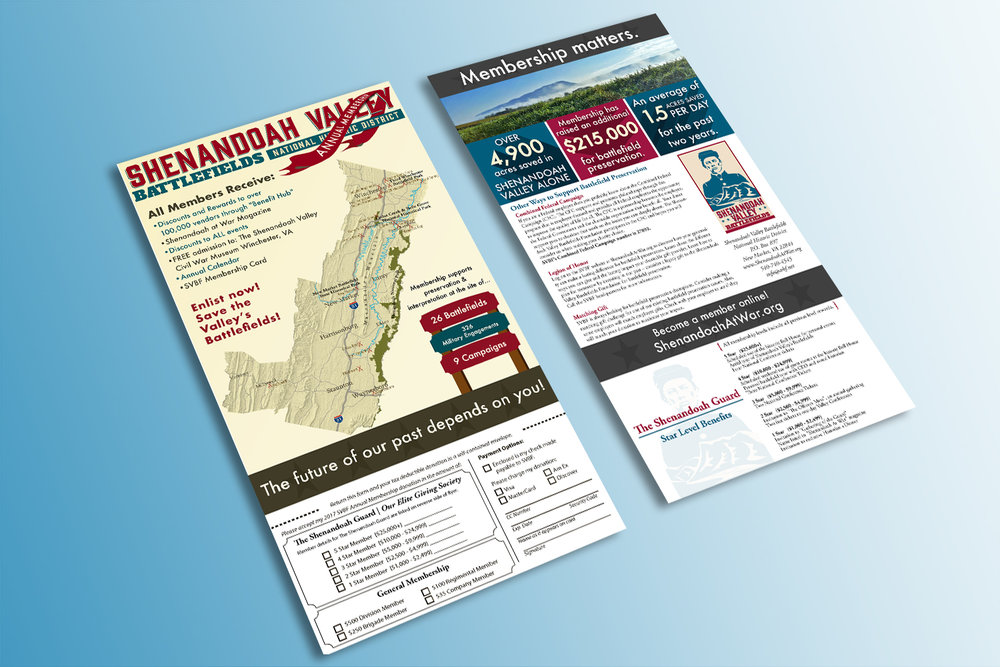 Shenandoah Valley Battlefield | National Historic District - Membership Flyers