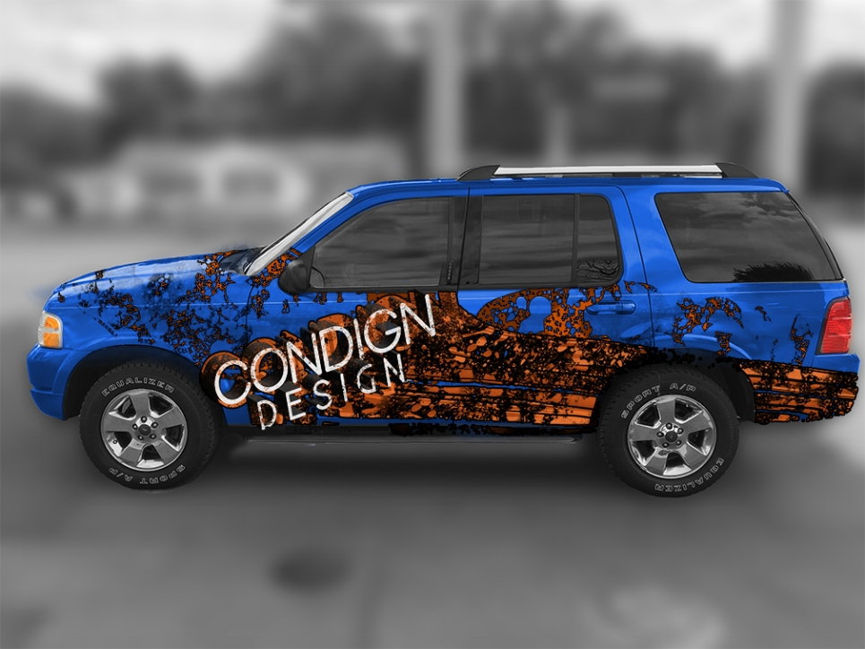 Condign Design - Vehicle Wrap