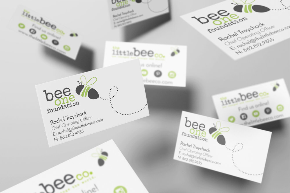 Little Bee Co. - Business Cards